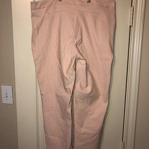 Pink Calvin Klein Capri pants